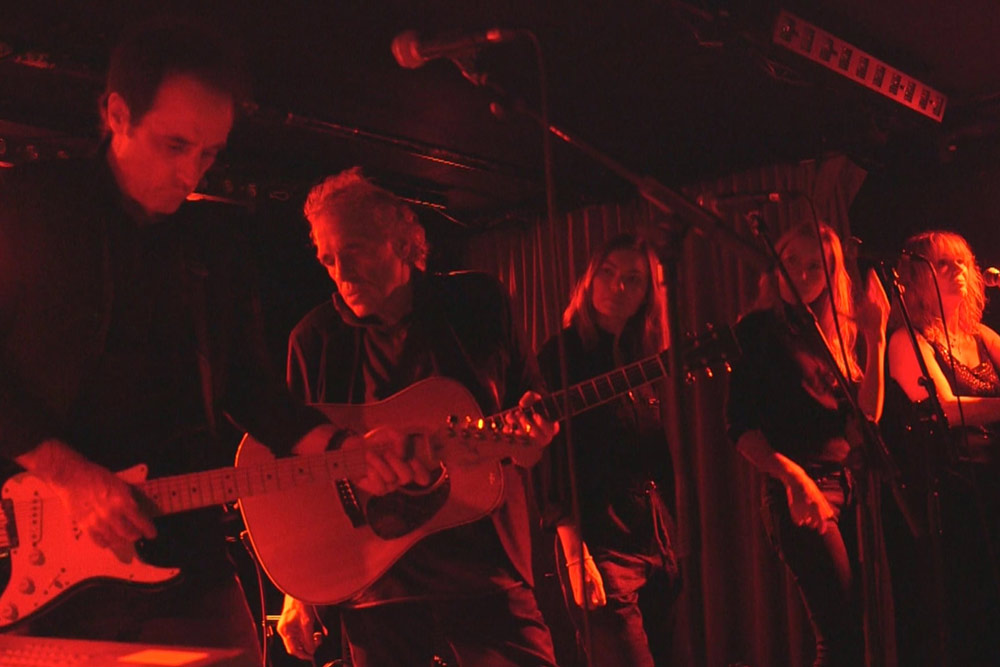 Abel Ferrara and the Band